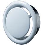 Приточно-вытяжной анемостат металлический ВЕНТС АМ 100 ВРФ